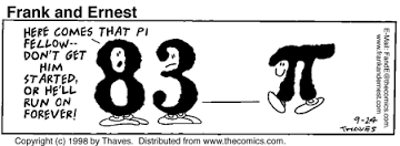 A little Pi humor...